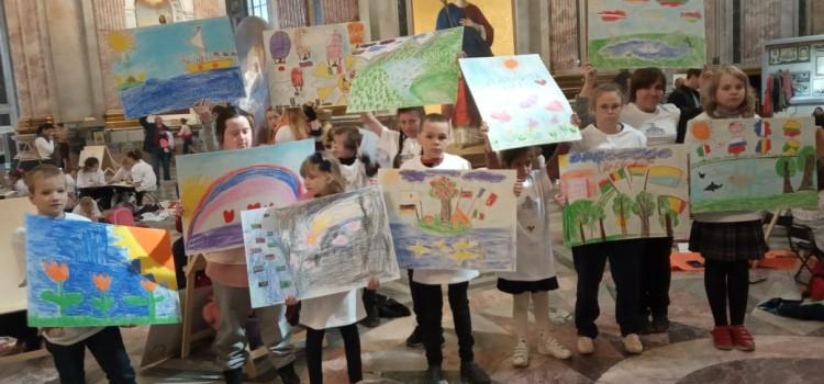 Акция «Дети рисуют в храме»